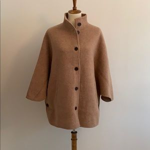 Mark and Graham Cape sweater coat. NWOT.
